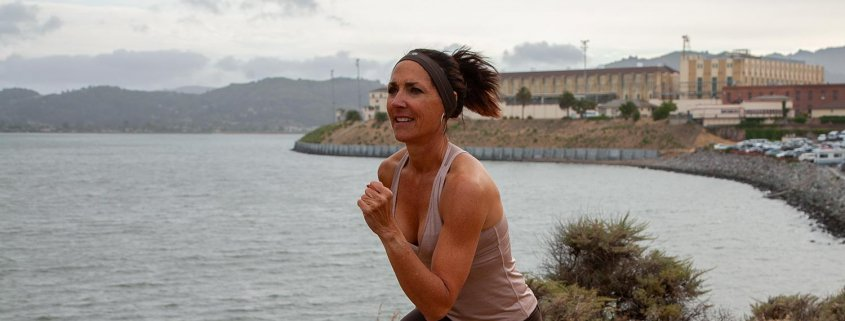 Michele Vaughan, creator of Beyond Fitness, providing fun, effective group and personal fitness