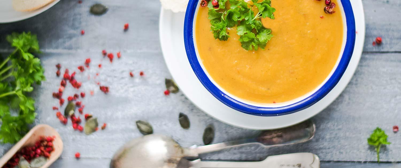 Ginger carrot soup recipe