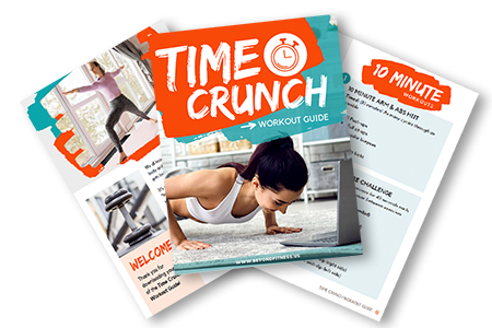 Time Crunch Workout Guide, full of simple results-driven workouts